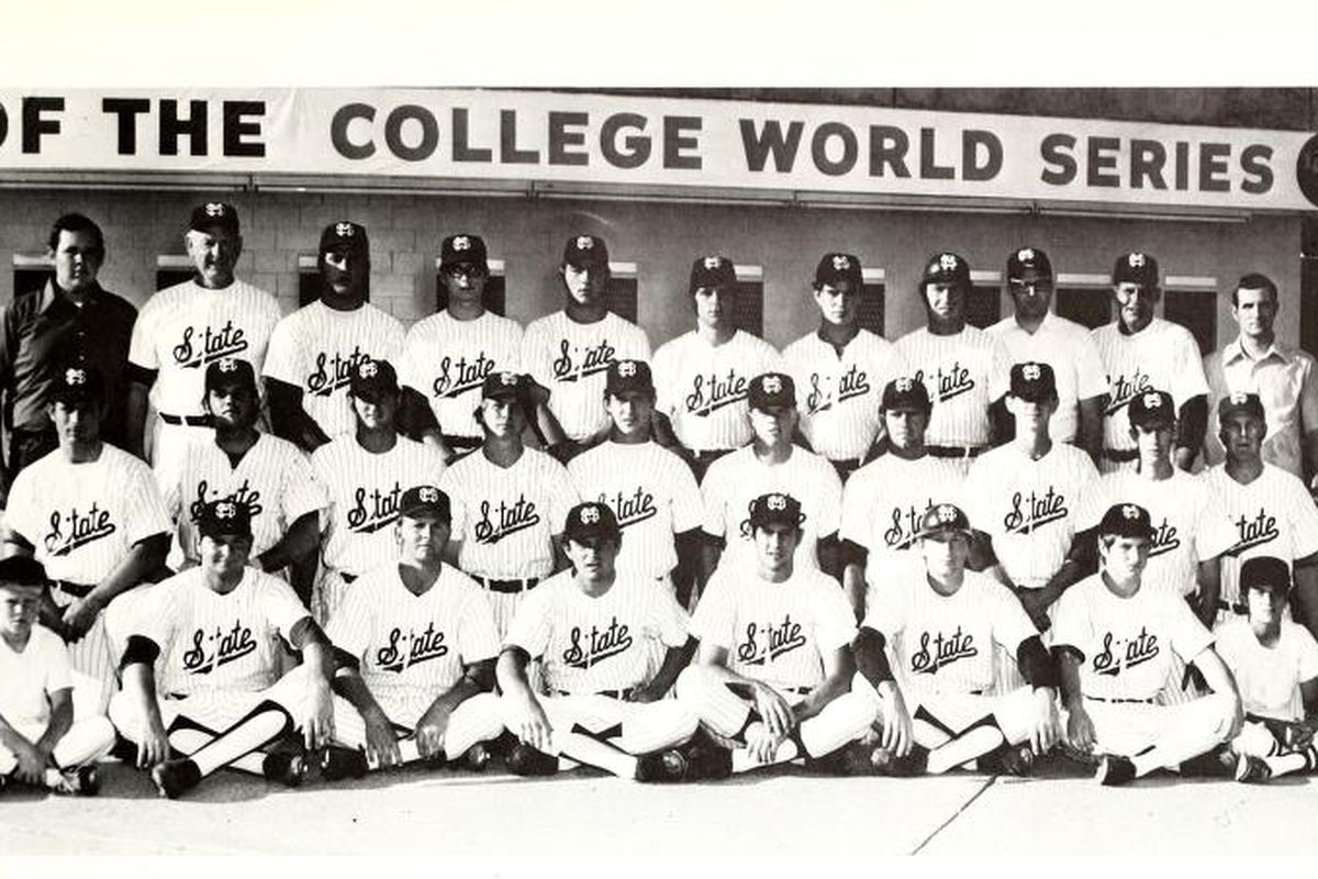 Above: the 1971 Mississippi State baseball team -- the first MSU squad to make it to Omaha