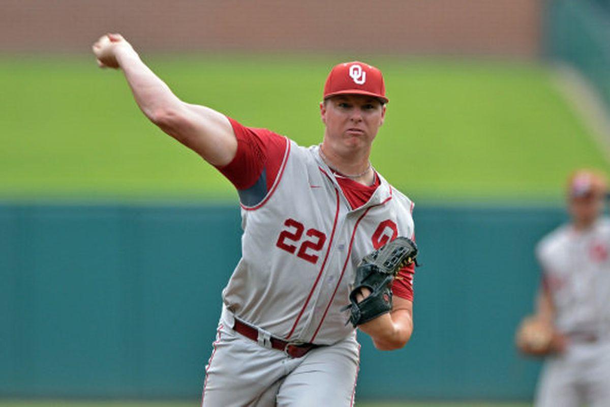 Jonathan Gray, Oklahoma right-handed starting pitcher