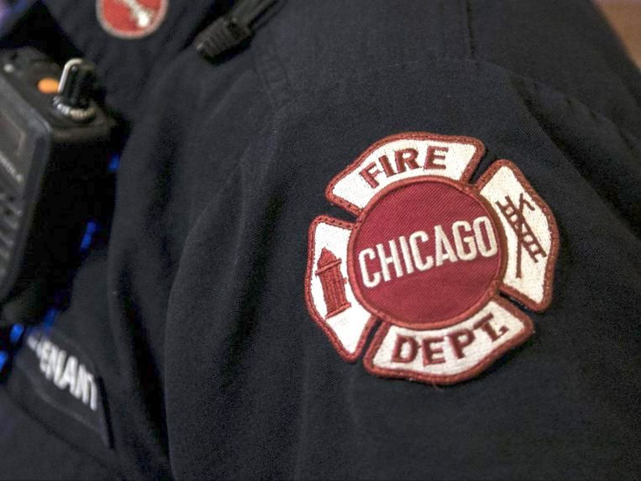 A woman was critically injured in a fire Nov. 11, 2020, in Englewood.