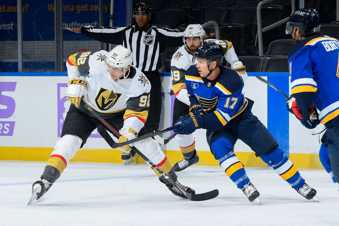 Vegas Golden Knights v St Louis Blues