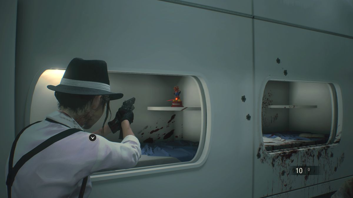 Resident Evil 2 NEST Laboratory Mr. Raccoon Nap Room