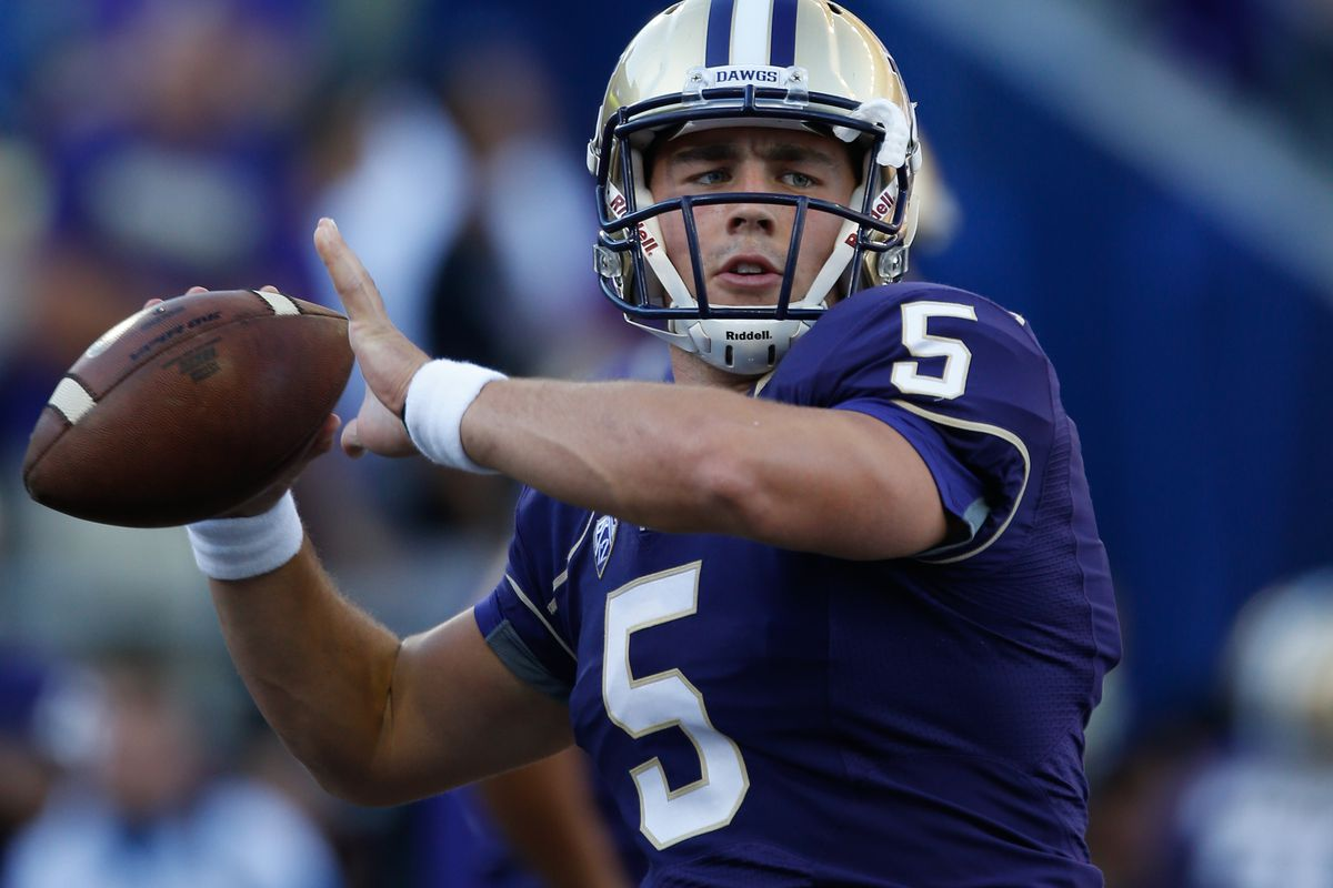 How far away is UW from answering their QB question?