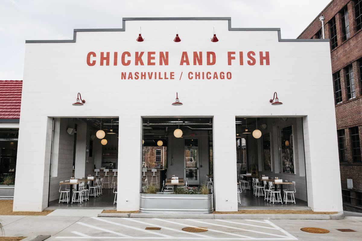 Parson's Nashville exterior building