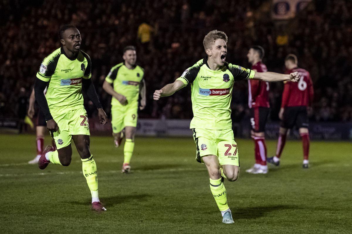 Lincoln City v Bolton Wanderers - Sky Bet League One