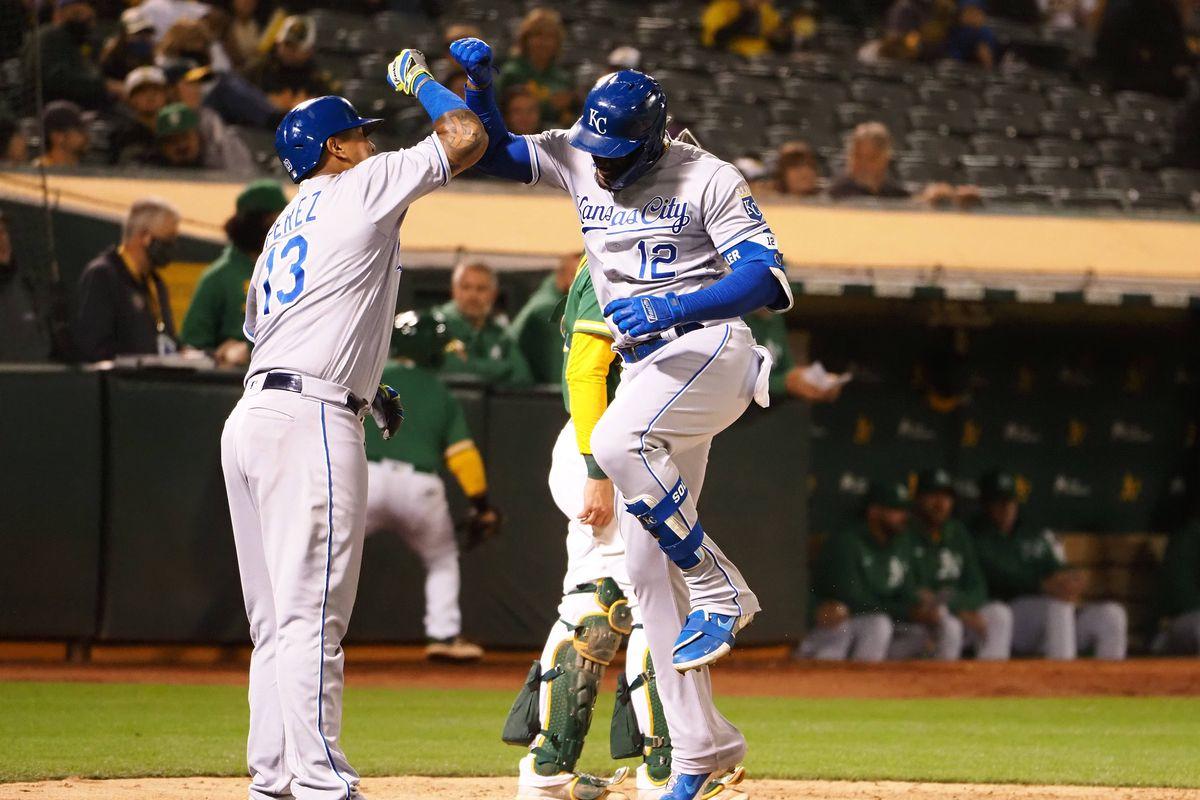 MLB: Kansas City Royals at Oakland Athletics
