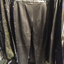High-waisted leather pants, $278 (was $1,850)