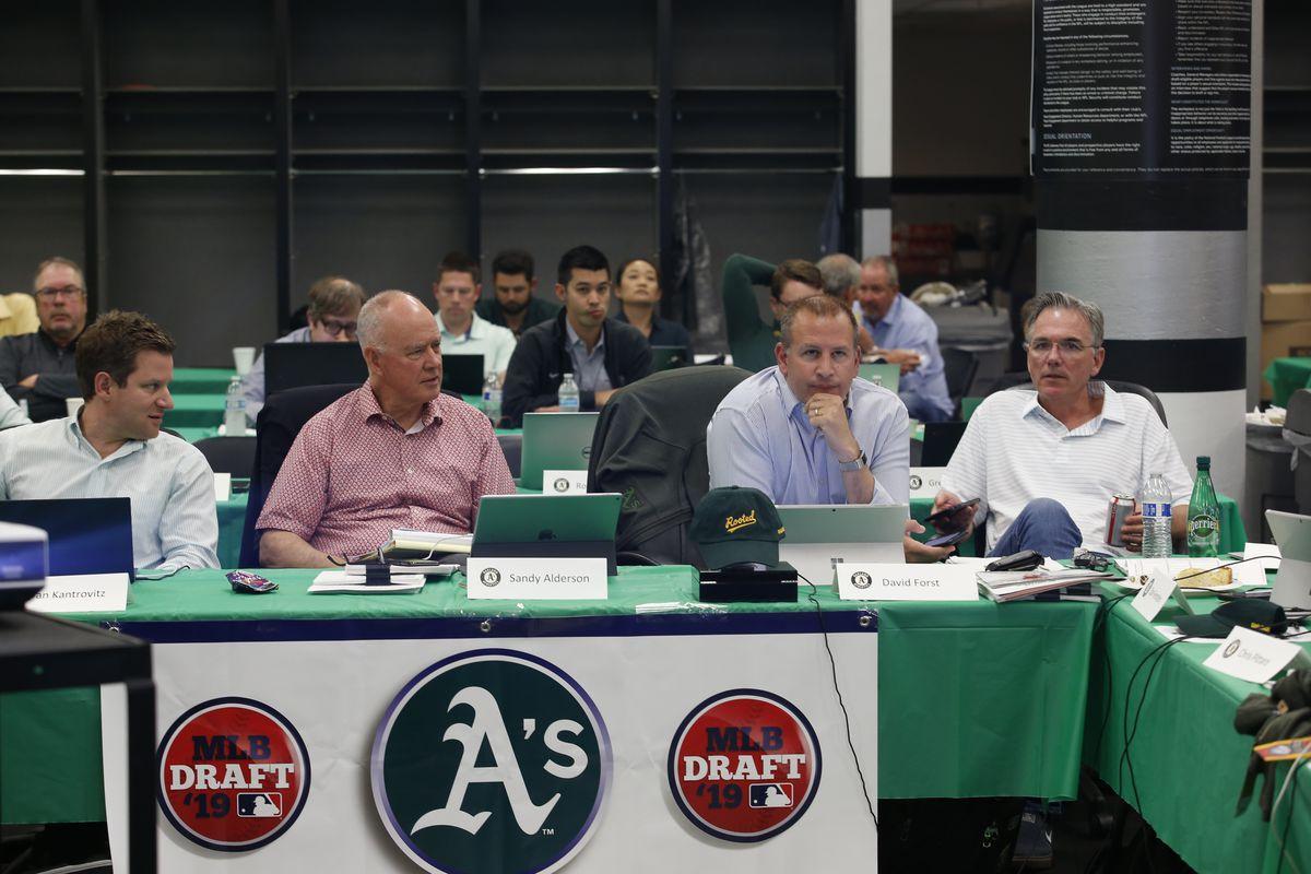 Oakland Athletics 2019 Draft Room
