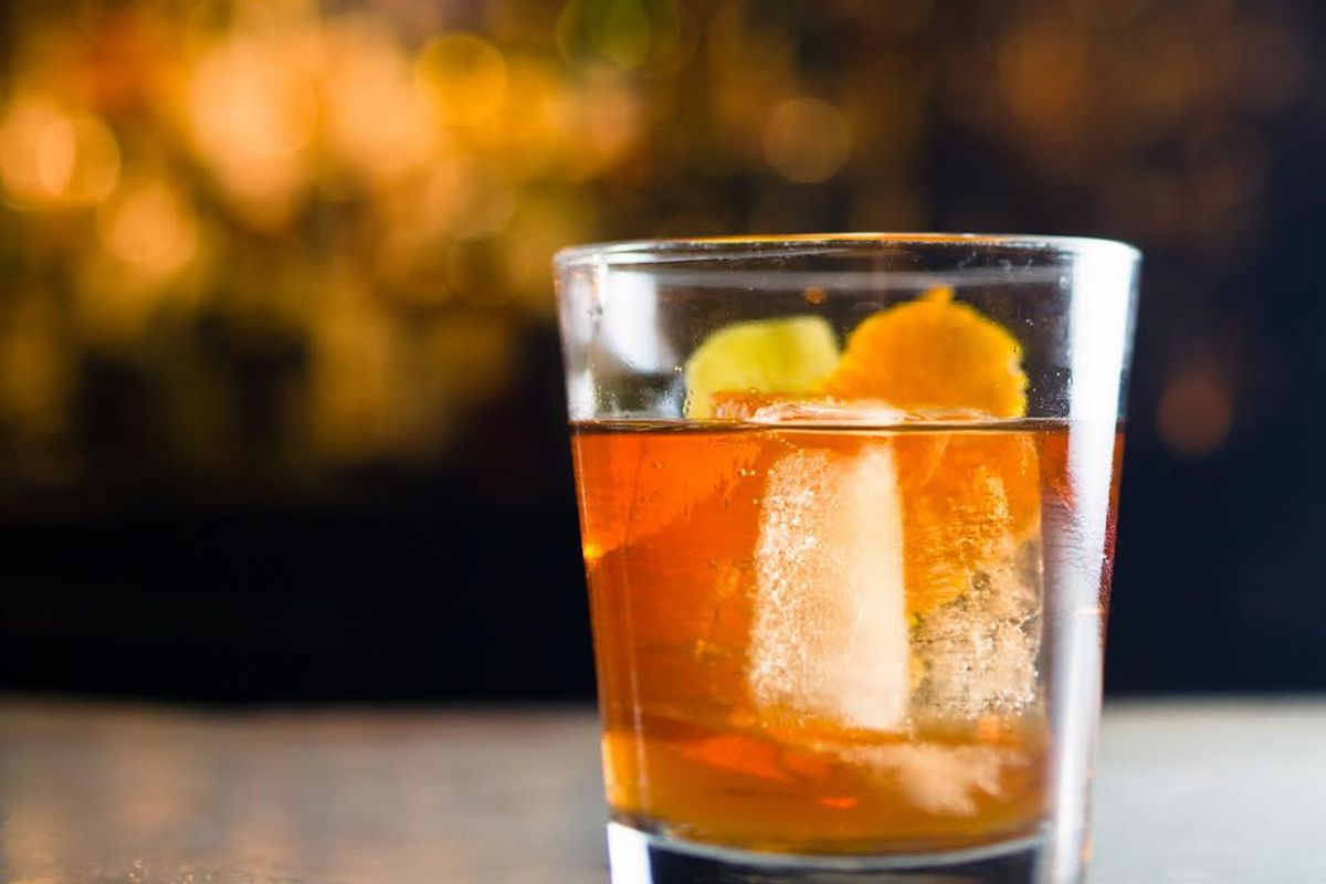The Chanticleer brandy cocktail adapted by David Wondrich using 1840 Original Formula.