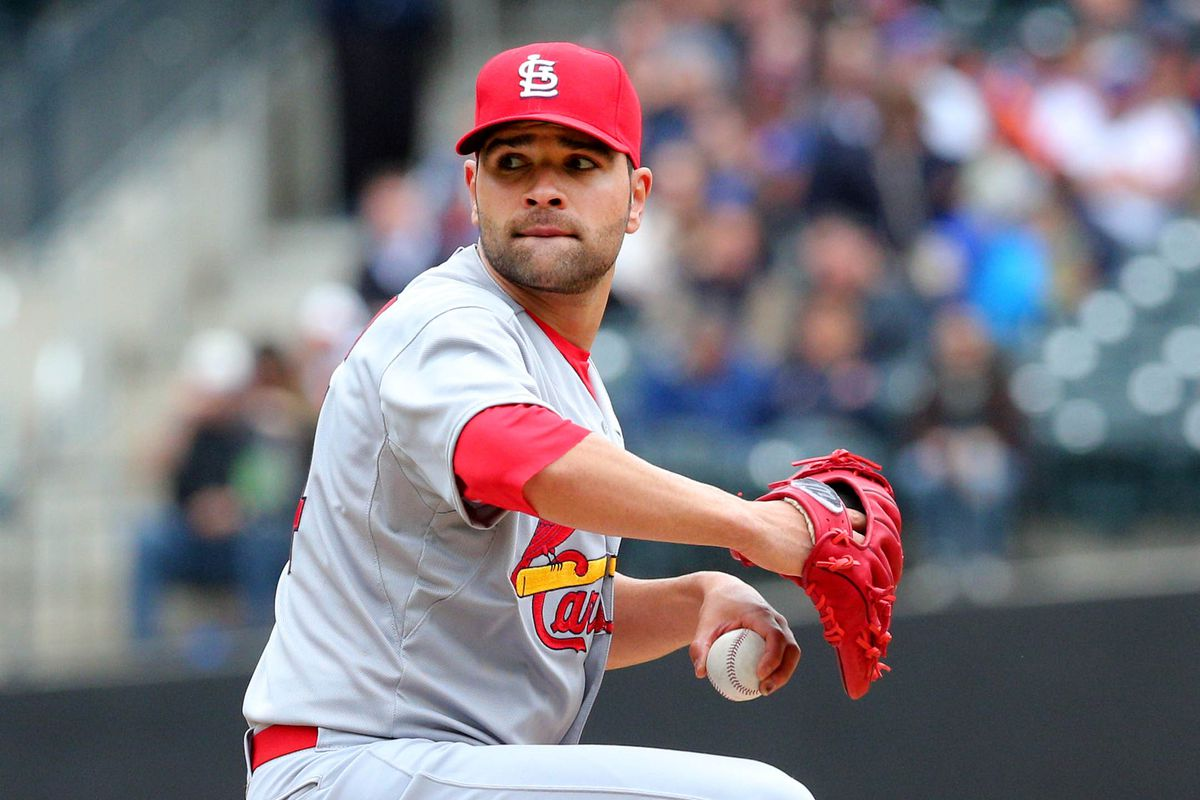 Jaime Garcia looking good.  Does he ever look bad though?