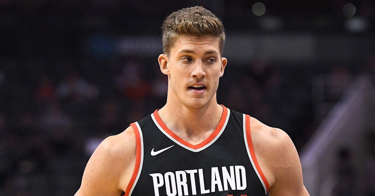 Jusuf Nurkic put quite the cap on the Portland Trail Blazers win over the Brooklyn Nets on Thursday with a thunderous jam on both Joe Harris and Jarret