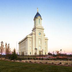 The Cedar City Utah Temple.
