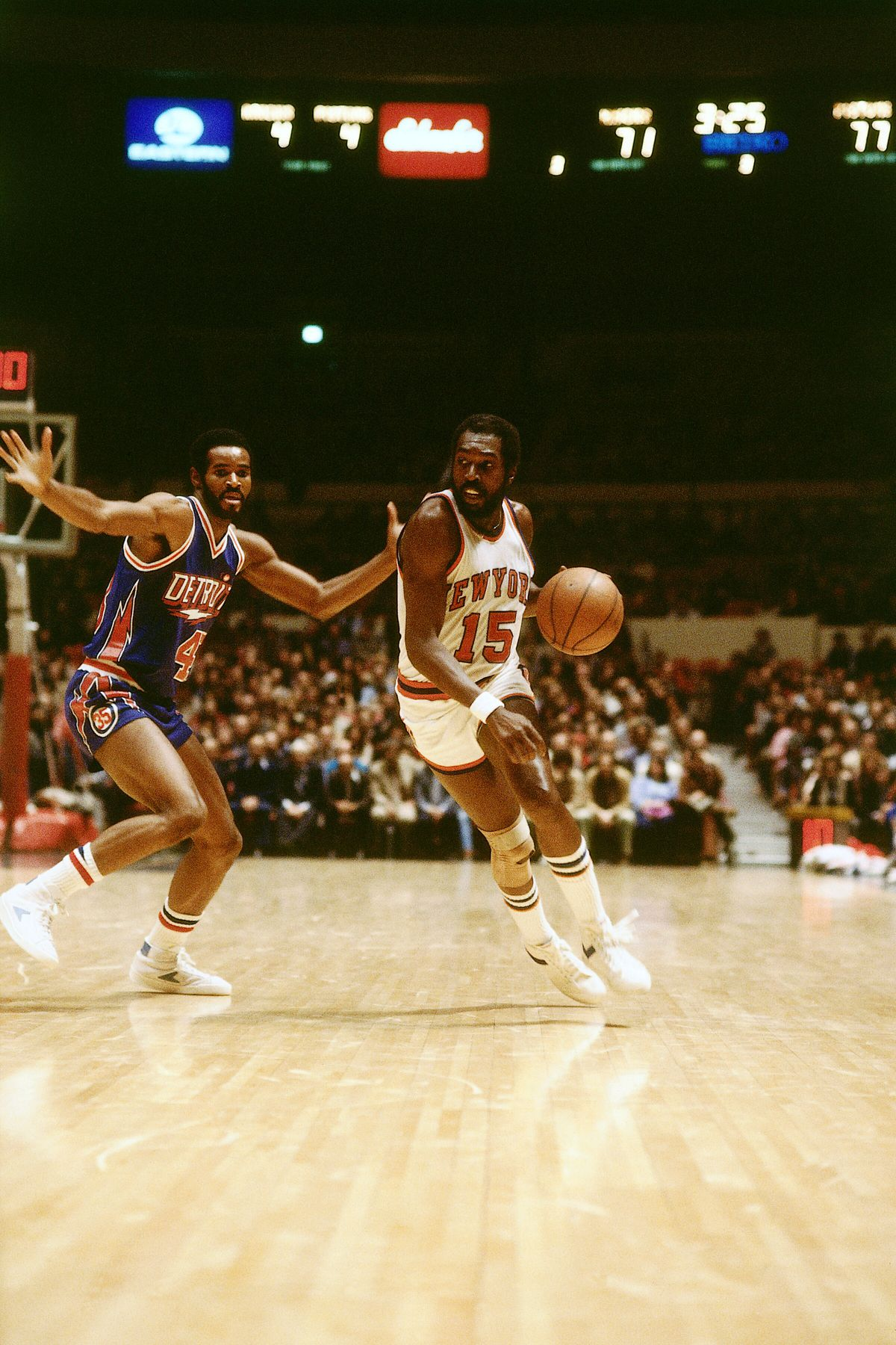 Detoit Pistons v New York Knicks