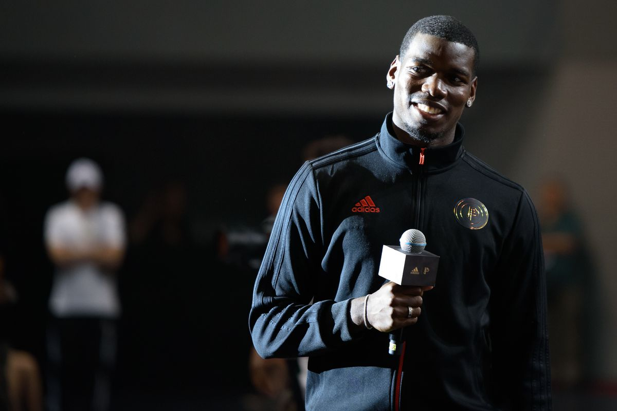 Paul Pogba Attends Adidas Event In Chengdu