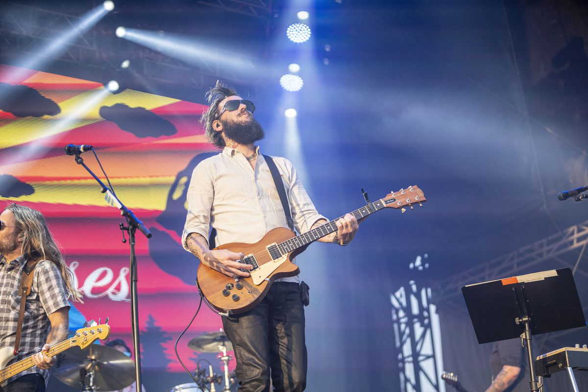 Band of Horses performs Sunday on Lollapalooza's last day.