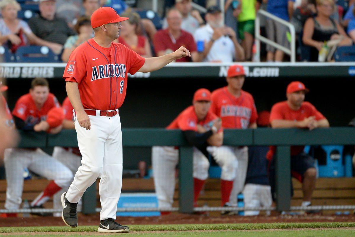 NCAA Baseball: College World Series-Arizona vs UC Santa Barbara