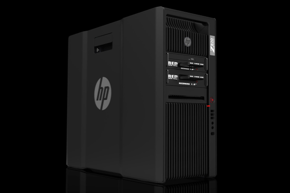 HP 820 Tower RED edition: a liquid-cooled tower PC for RED