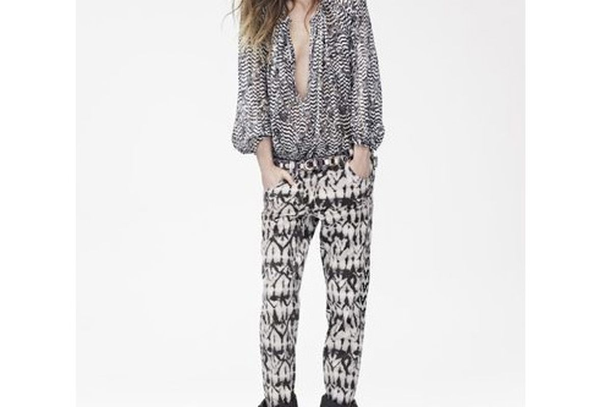 """Image via <a href=""""http://racked.com/archives/2013/09/24/part-of-the-isabel-marant-for-hm-lookbook-has-leaked.php"""">Racked National</a>"""