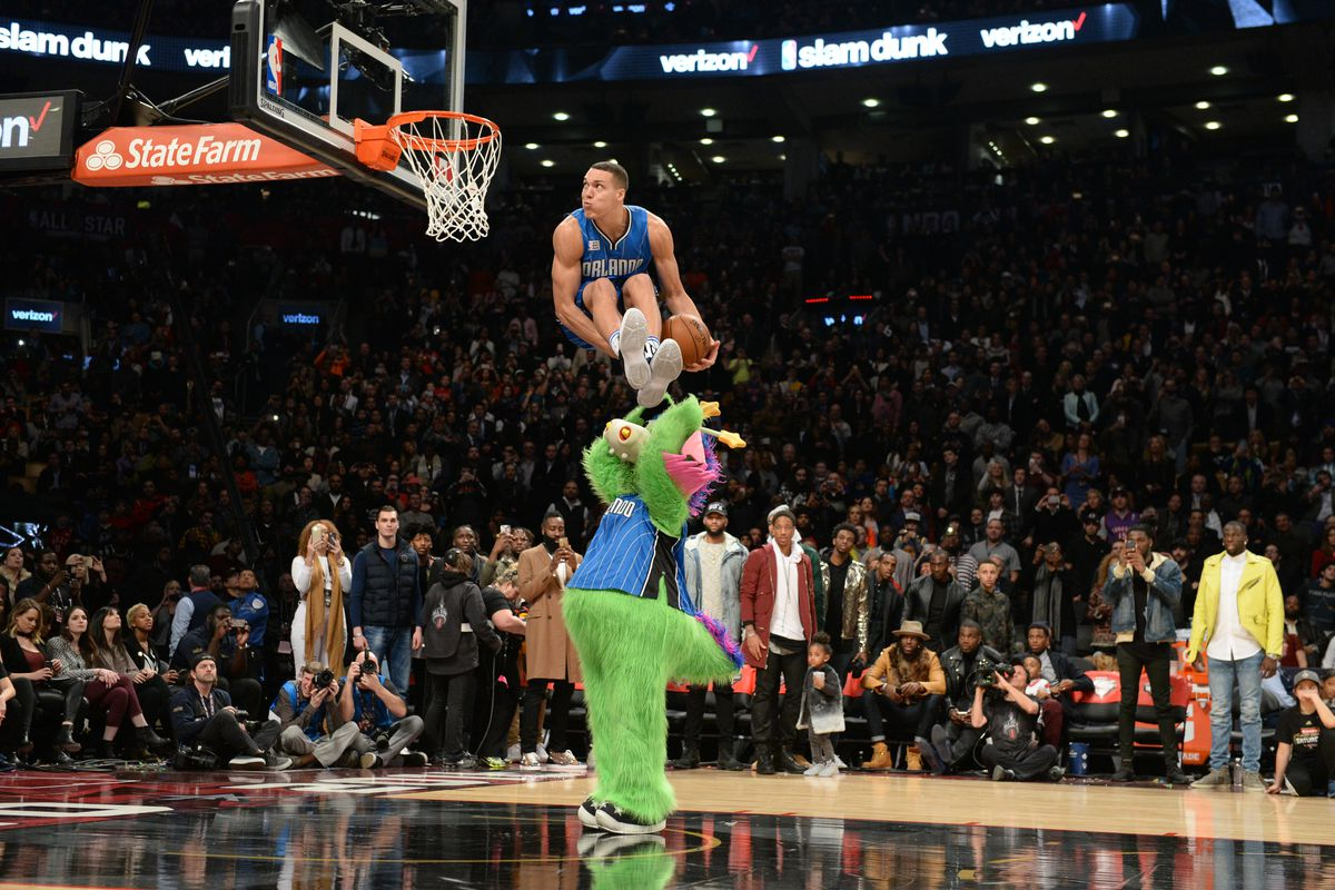 this magic moment the day aaron gordon helped save the dunk contest