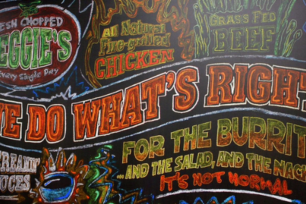 Inside Freebirds World Burrito, MDR.