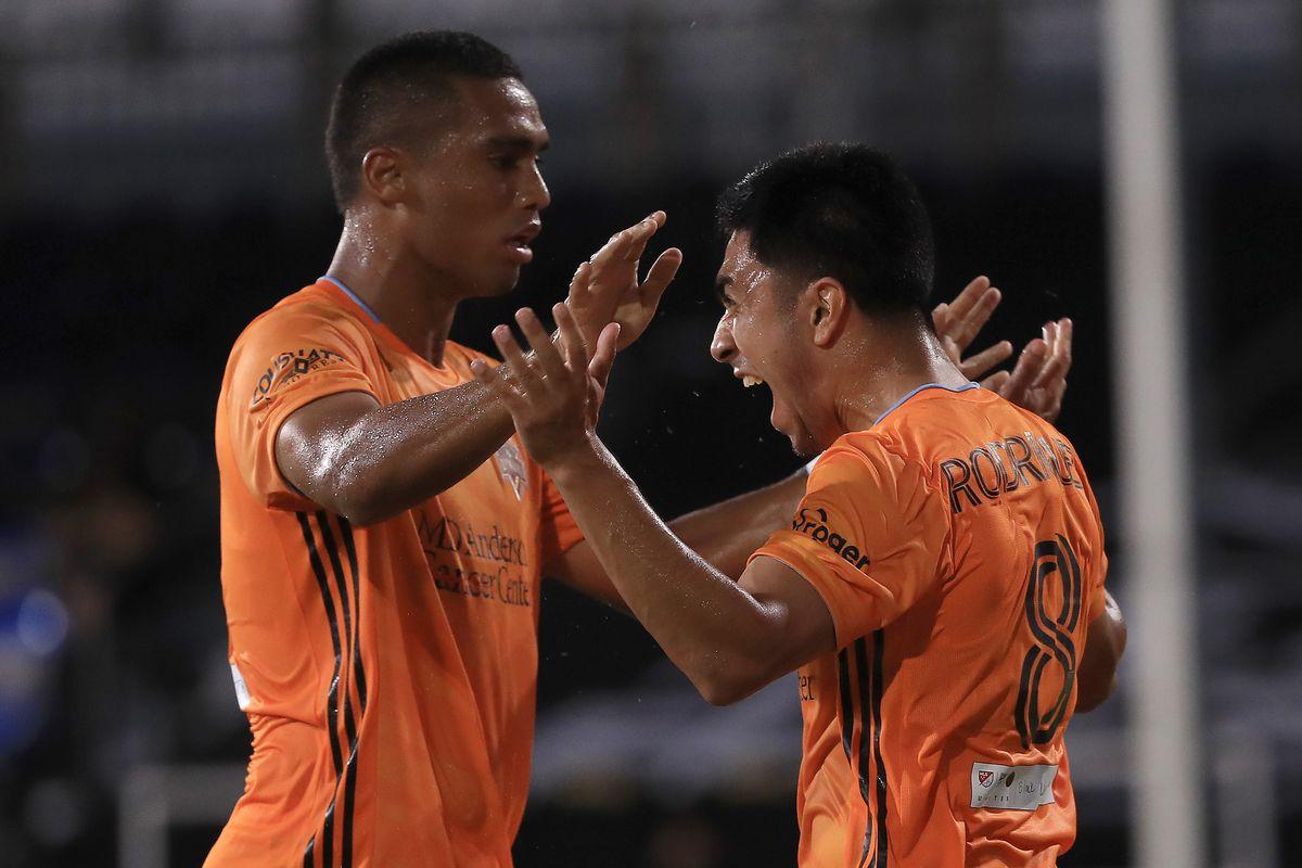 Los Angeles FC v Houston Dynamo - MLS Is Back Tournament