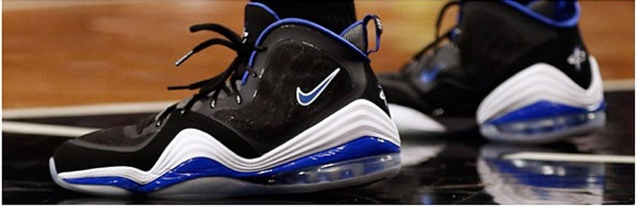 Deron Williams' Nike Air Penny Vs were a blast from the past Via @shaker25