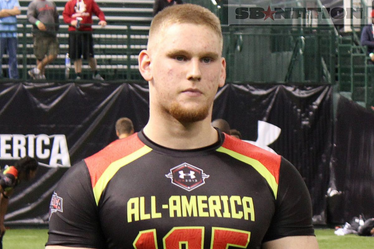 Auburn is fighting for four-star offensive guard Braden Smith.