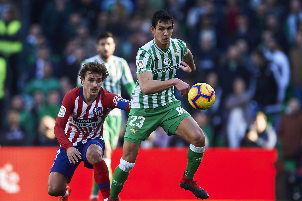 Real Betis Balompie v Club Atletico de Madrid - La Liga