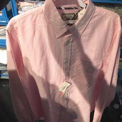 Pink oxford sample shirt, $10 (was $125)