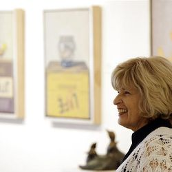 Leslie Levy, owner of an art gallery in the Scottsdale Arts District, takes the closing of her gallery after 32 years in stride as she smiles July 16, but she and other art gallery owners have a tough sell, and as a result, gallery owners in art communities are having to close shop or drastically change the way they do business.