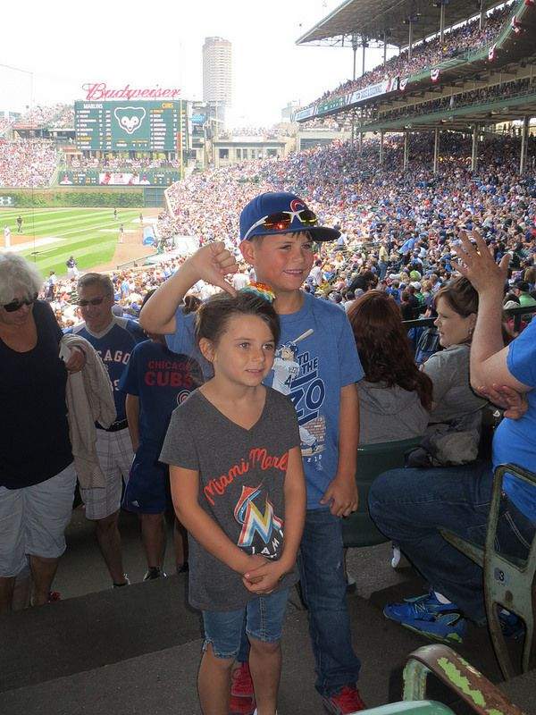 cubs and marlins kids