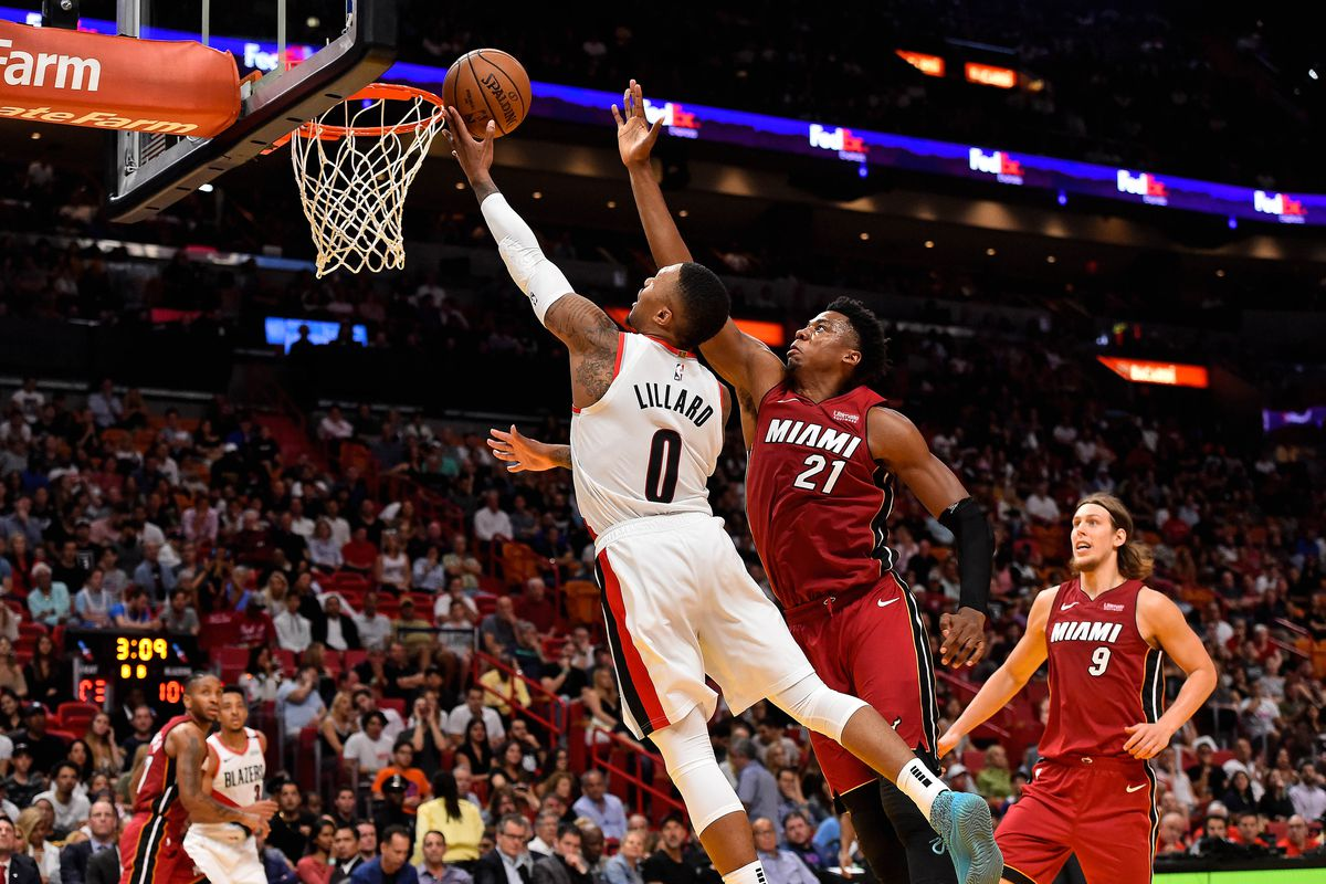 newest c8201 74ee5 Portland Trail Blazers vs. Miami Heat Preview
