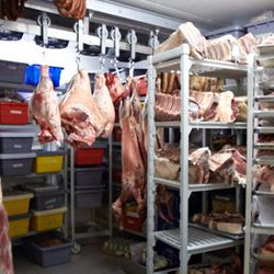 Is is a meat storage or aging room? A little of both