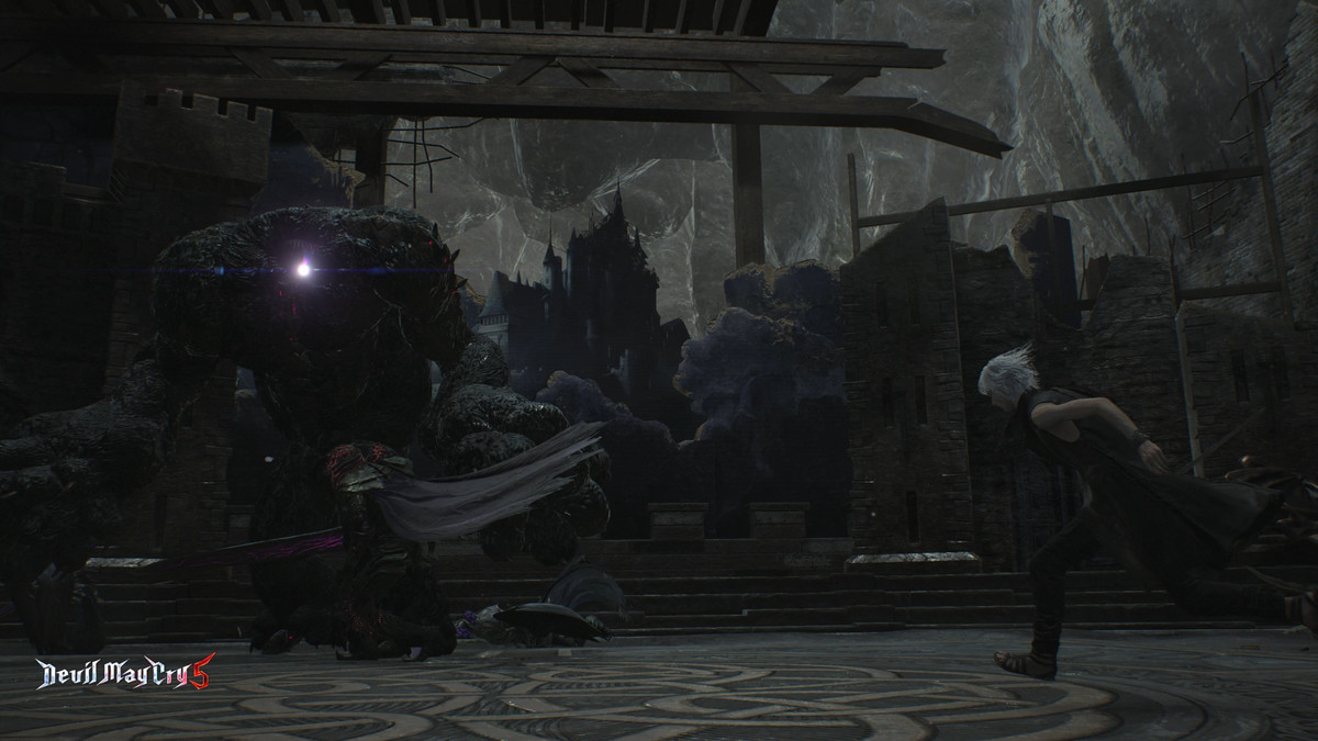 Devil May Cry 5 V and Nightmare