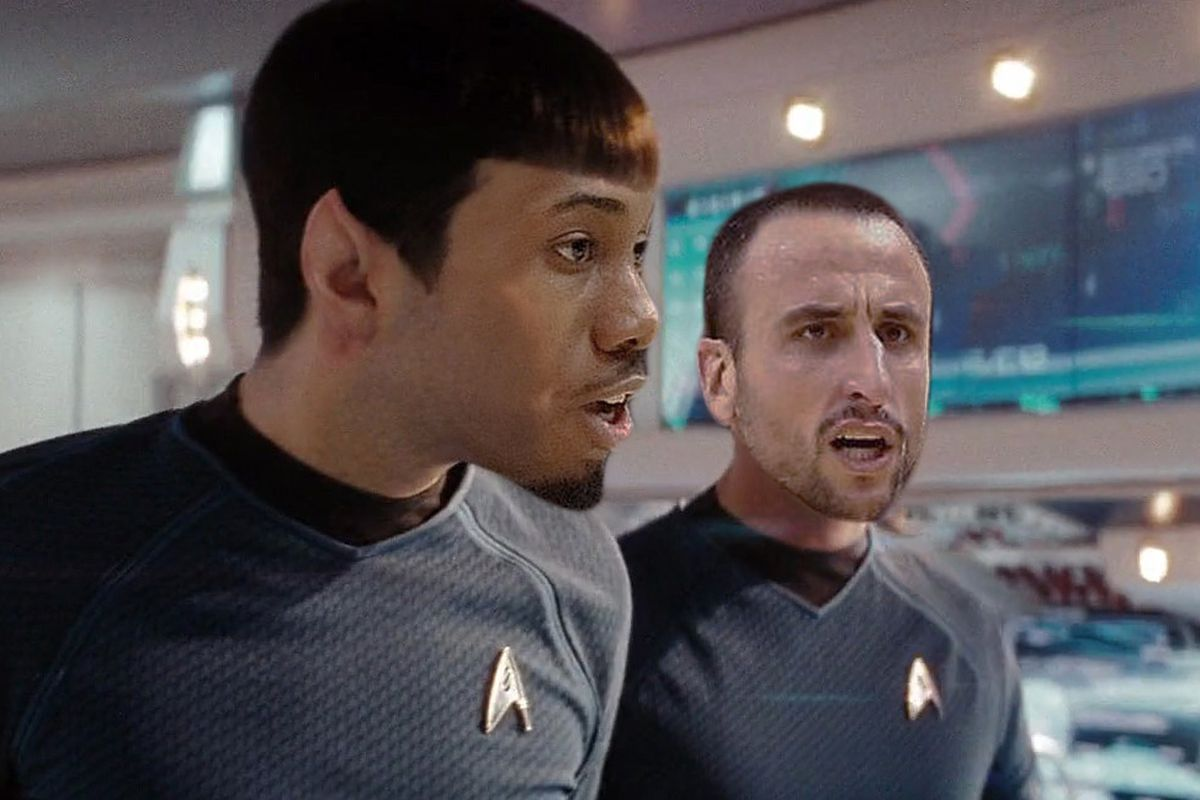 Star Trek is a property of Paramount Pictures
