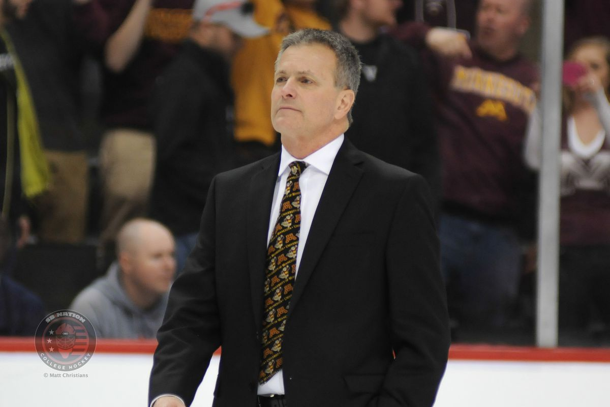 Don Lucia won his 400th game as Gopher head coach Friday.