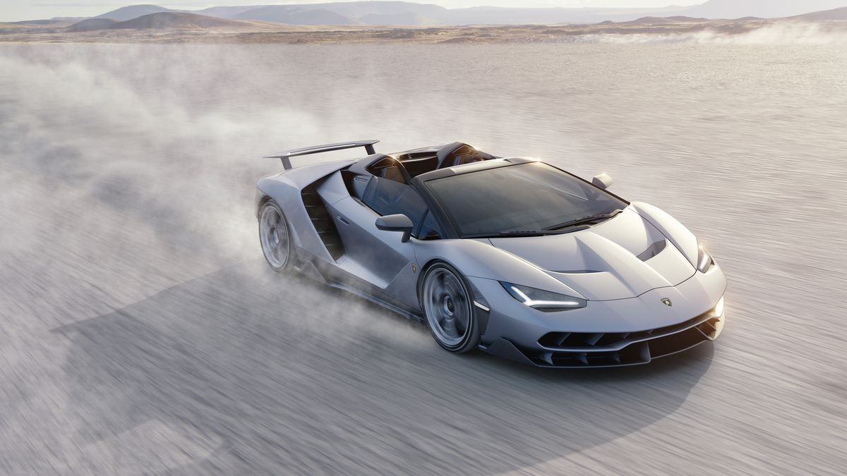 The Lamborghini Centenario Roadster Has 770 Horsepower Of Open Top