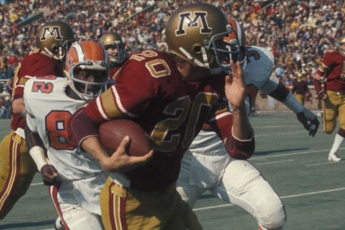 newest fa9dc 752f5 The history of Minnesota Football uniforms #TBT - The Daily ...