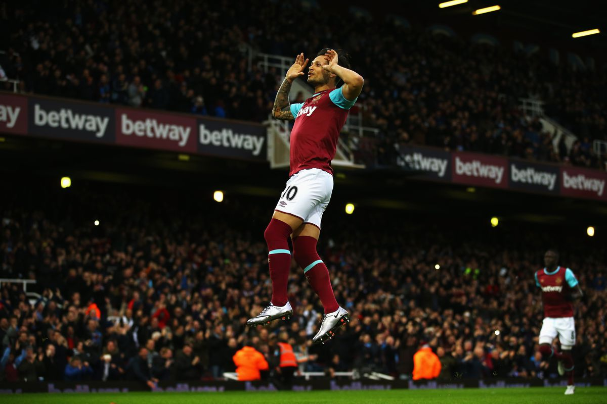 Little known fact: Mauro Zarate doesn't run. He levitates.