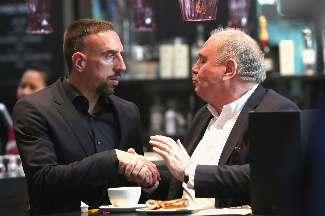 Did Uli Hoeness just offer Franck Ribery an extension""