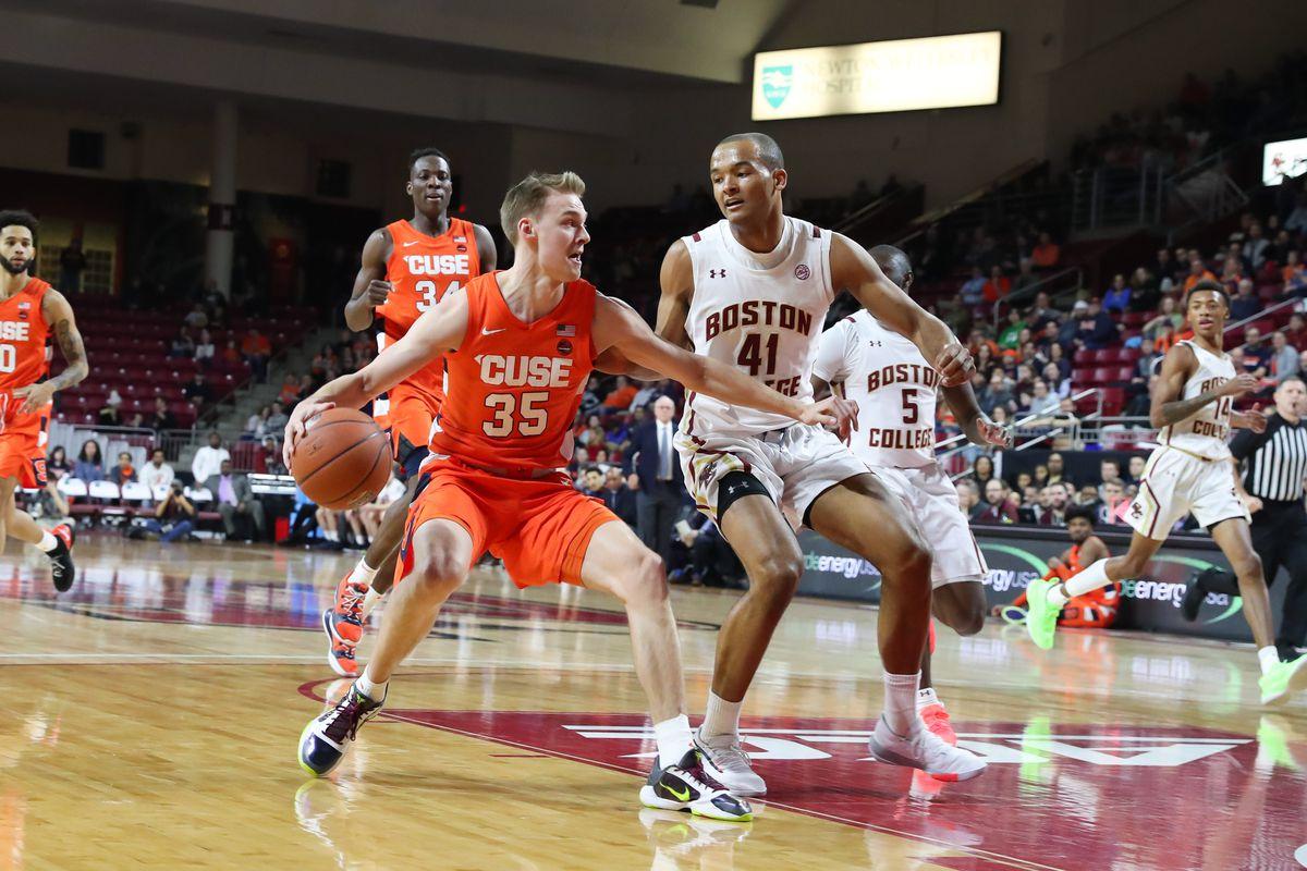 COLLEGE BASKETBALL: MAR 03 Syracuse at Boston College