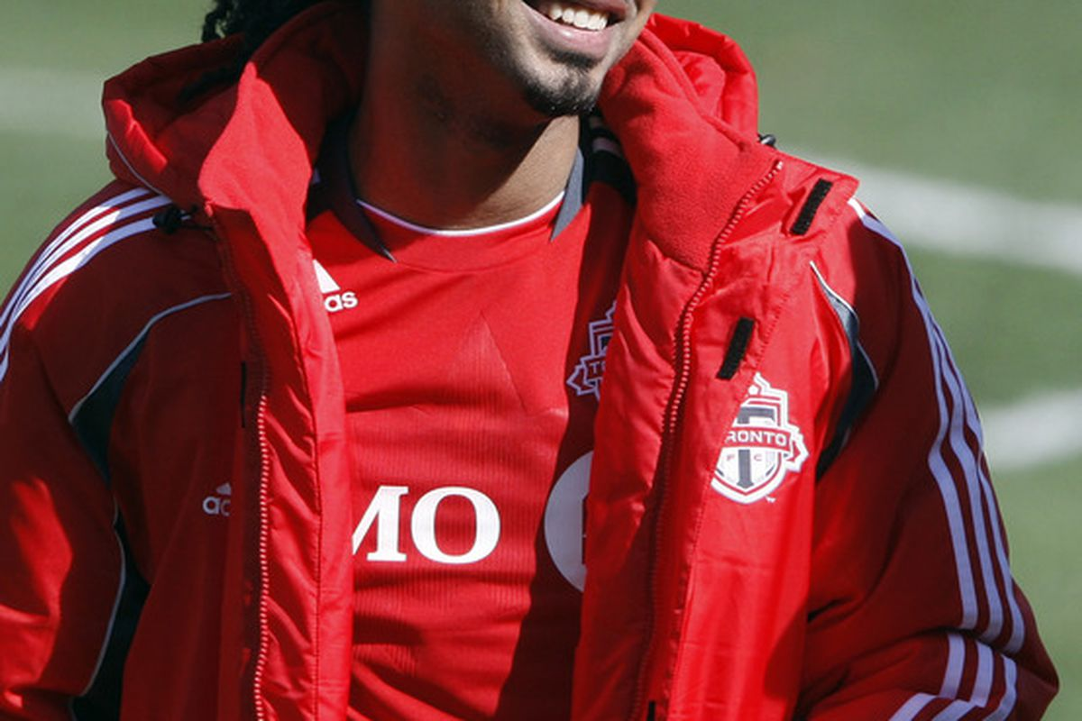 What's that Javier?  That bench jacket feels pretty cosy?  You could get used to that?  Don't worry, you will.