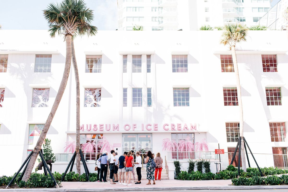 tour miami beach s new museum of ice cream curbed miami. Black Bedroom Furniture Sets. Home Design Ideas