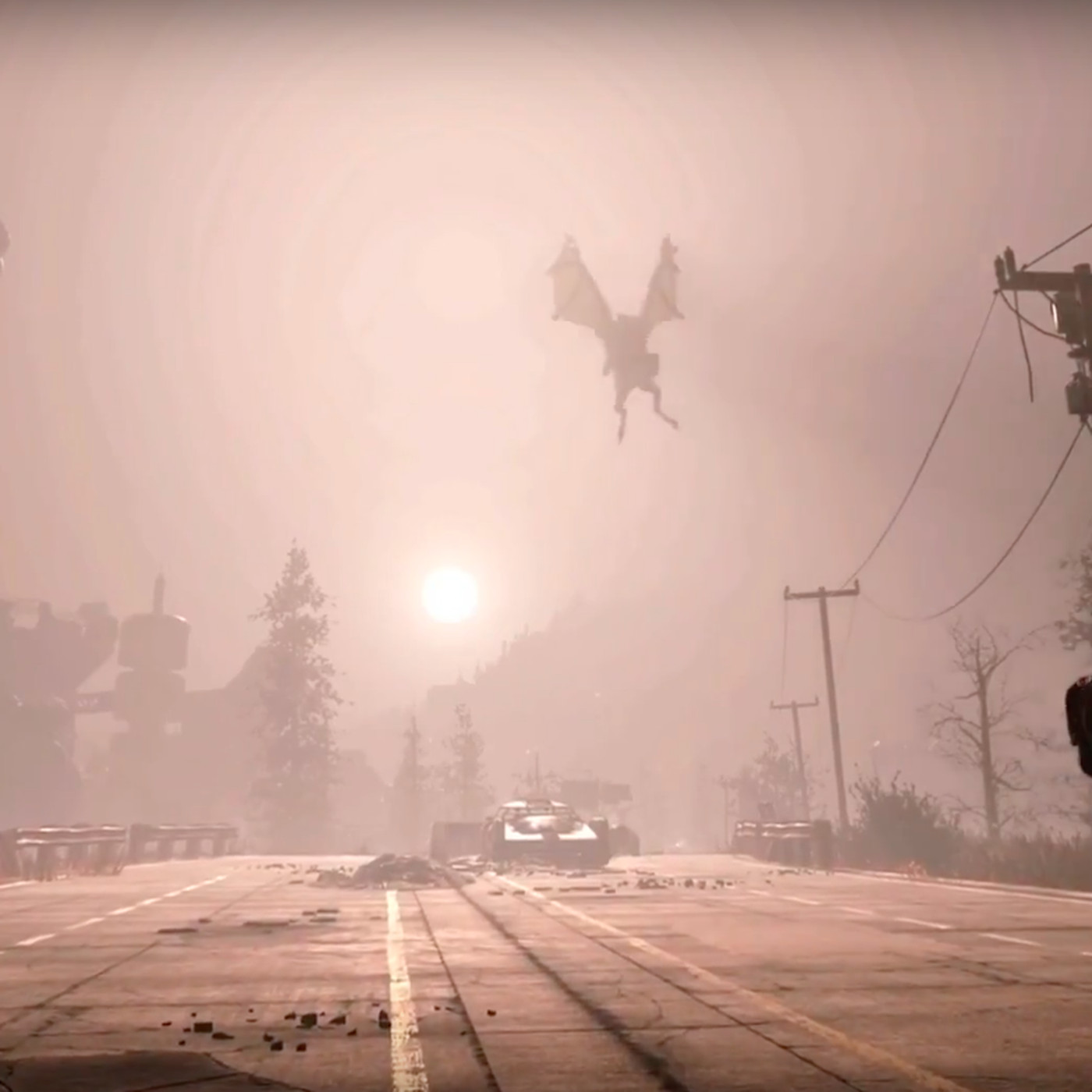 Fans think West Virginia urban legend Mothman is in Fallout 76 - The