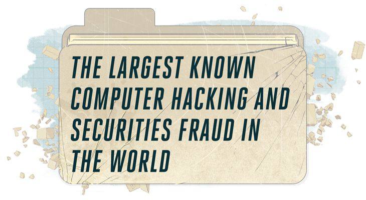 How a hacker network turned stolen press releases into $100
