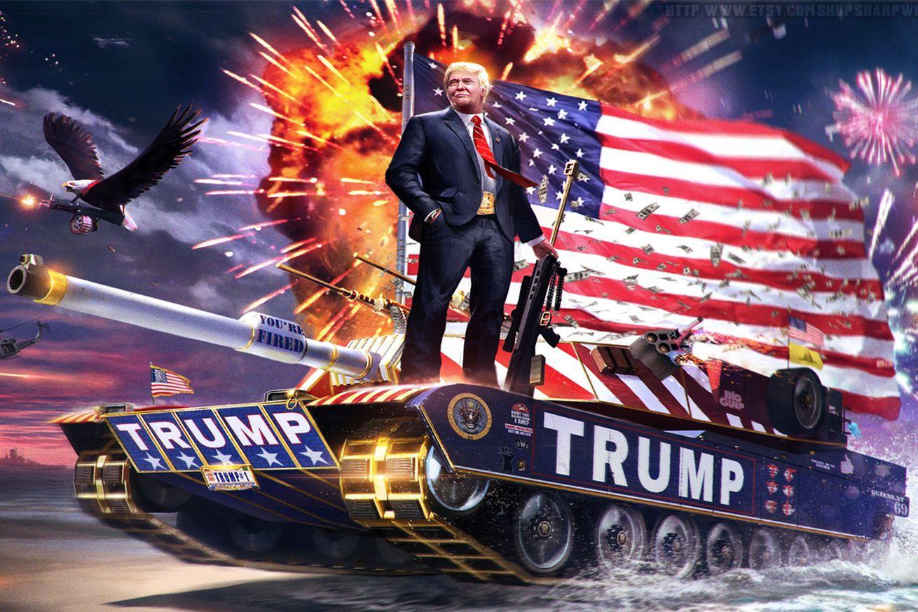 that trump tank meme on cesar sayoc s van was made as a joke creator says