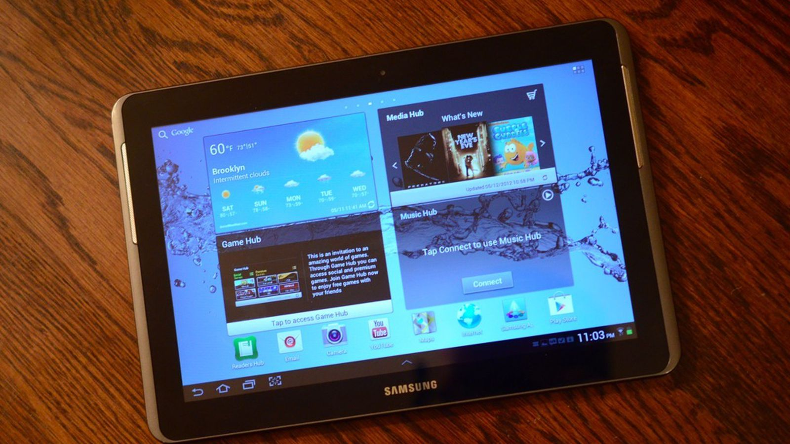 Samsung Galaxy Tab 2 10 1 Review The Verge