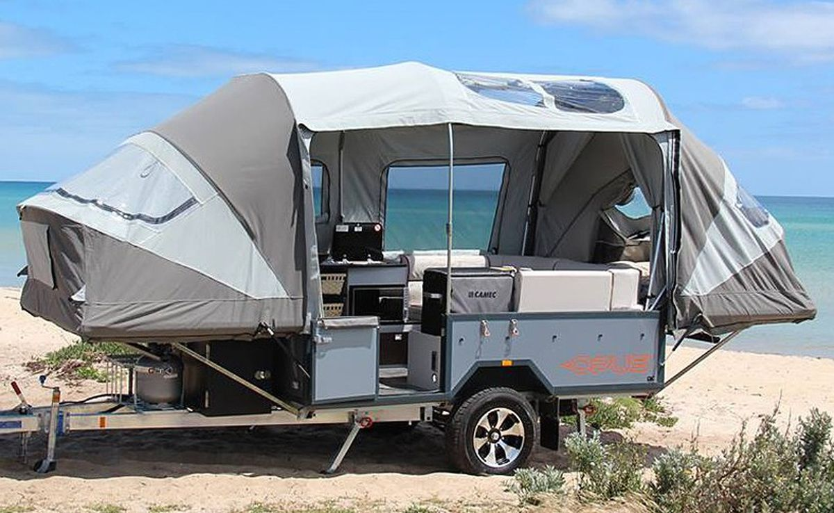 Cost 2499 For The Air Tent System Add On Available All OPUS Trailers Which Range From 18999 To 22799 Key Features Pop Out Inflates In 90