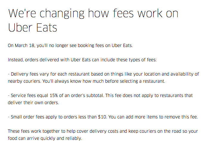 Uber Eats rolls out confusing new fees — here's what they mean - The
