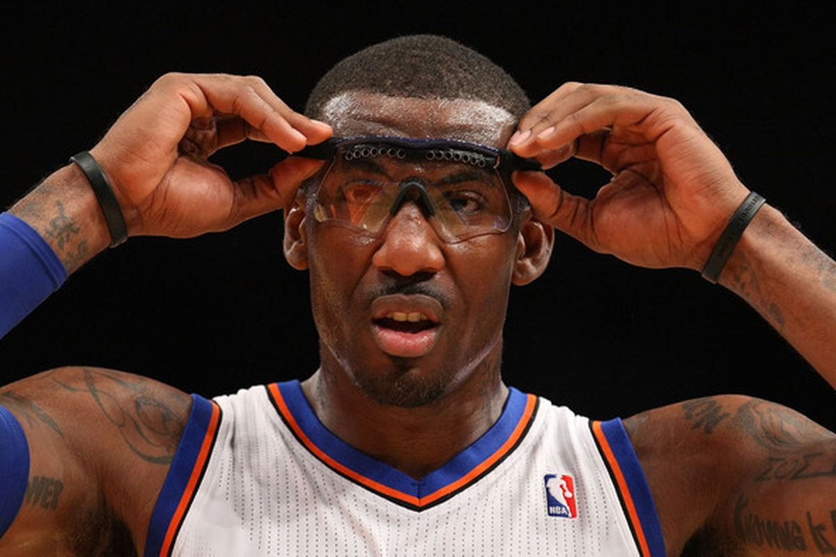 <strong>Amar'e Stoudemire</strong> of the New York Knicks.  (Photo by Al Bello/Getty Images)