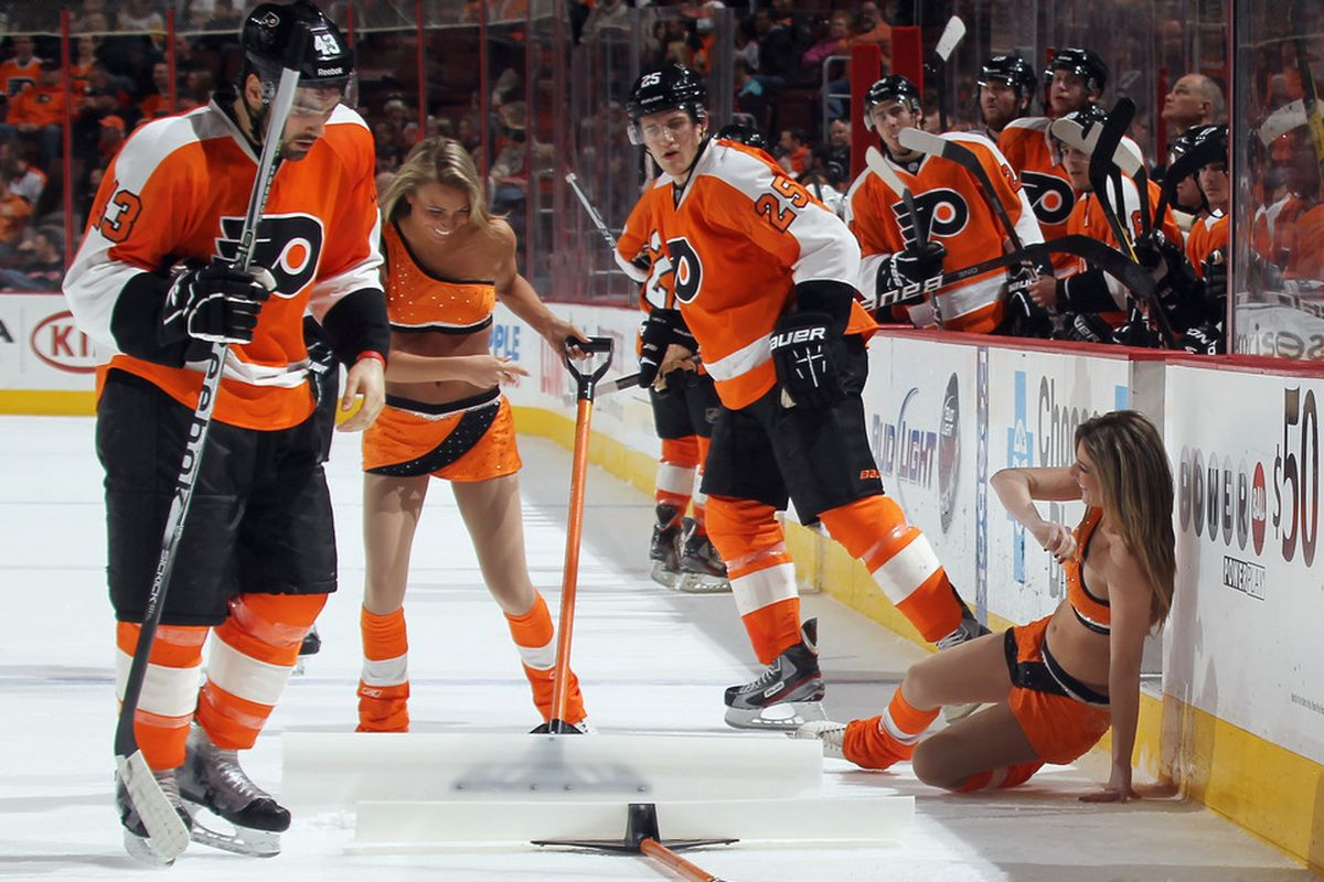Even the ice girls will be hitting the ice in this series.